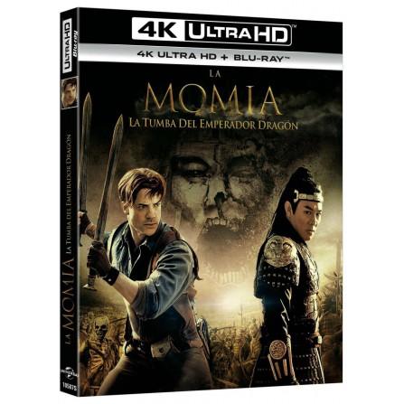 La momia 3: la tumba del Emperador Dragón (4K UHD + BD)