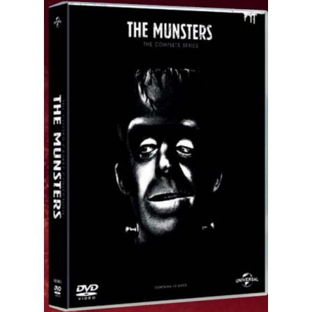 Tv la familia monster (temporadas 1-2) - DVD