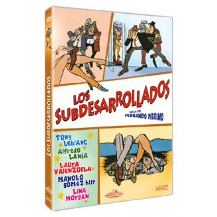 Los subdesarrollados - DVD