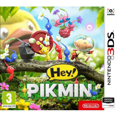 HEY! PIKMIN/3DS