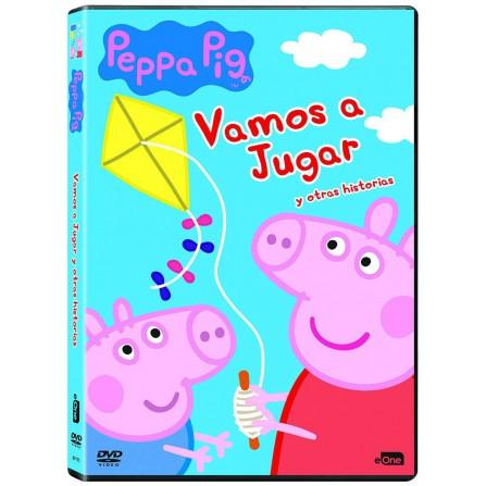 Peppa Pig - Vamos a jugar y otras historias - DVD