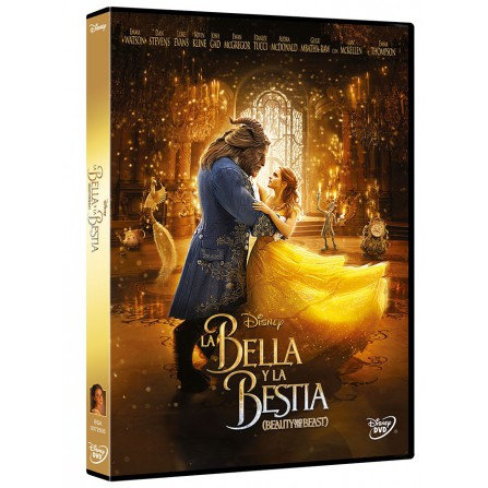 BELLA Y BESTIA (2017) DISNEY - DVD