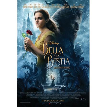 La bella y la bestia (2017) BD3D - BD