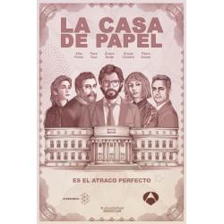 La casa de papel - Parte 1 y 2 - BD