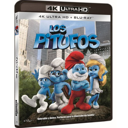 Los Pitufos (Blu-Ray 4K UHD + Blu-Ray)
