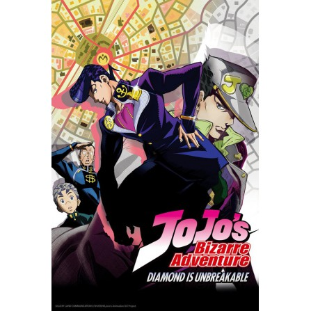 JOJOS BIZARRE ADVE T1 (EP.1 a 9) FOX - BD