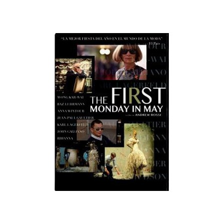 The First Monday in May - DVD