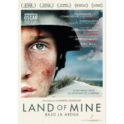 LAND OF MINE  (bajo arena) KARMA - DVD
