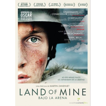 LAND OF MINE  (bajo arena) KARMA - DVD