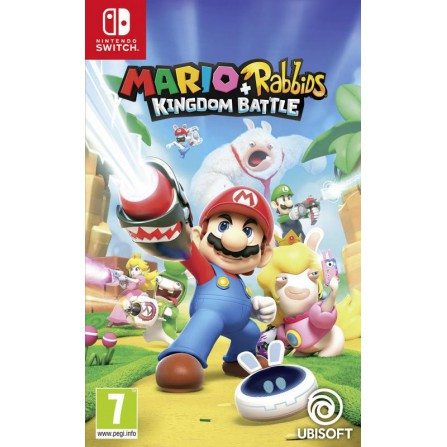 Mario + Rabbids Kingdom Battle - SWI