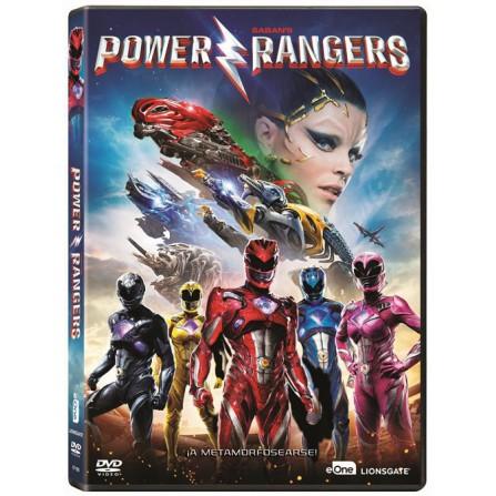 POWER RANGERS (2017) FOX - DVD