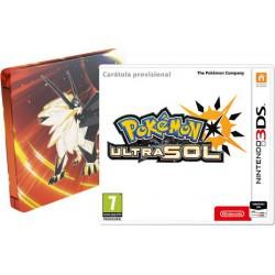 Pokemon Ultrasol Edición Steelbook - 3DS
