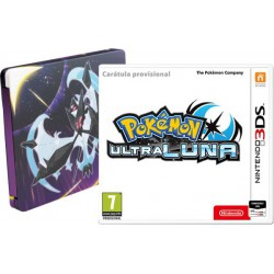 Pokemon Ultraluna Edición Steelbook - 3DS