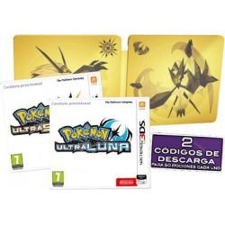 Pokemon Ultrasol + Ultraluna Ultra Dual Edition - 3DS