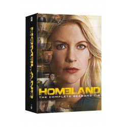 Homeland Temporadas 1 a 6 - DVD