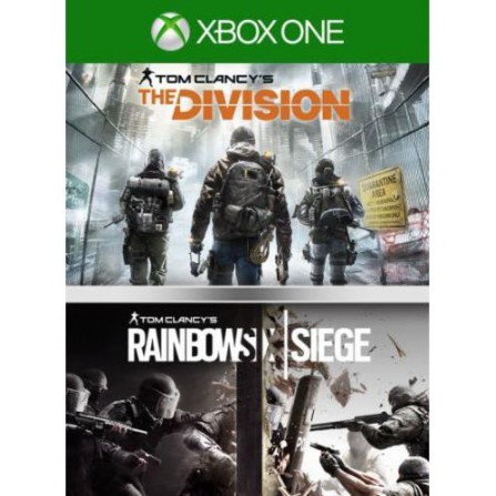 Comp. Rainbow Six + The Division - Xbox one