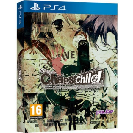 CHAOS CHILD LIMITED EDITION/PS4