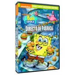Bob Esponja: Directo de fábrica - DVD
