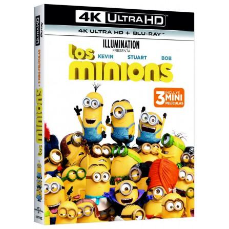 Los minions (4K UHD + BD)
