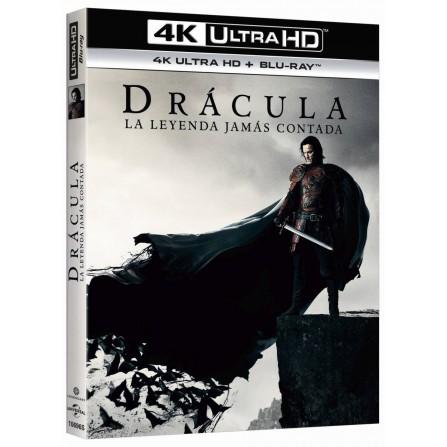 Drácula la leyenda jamás contada (4K UHD + BD)