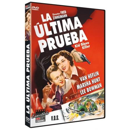 ULTIMA PRUEBA (V.O.S.E) MAPETAC - DVD