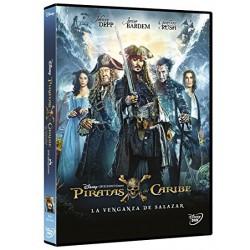 Piratas del Caribe: La venganza de Salazar - DVD