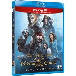 Piratas del Caribe: La venganza de Salazar (3D) - BD