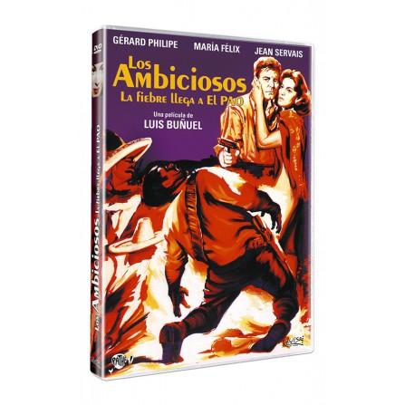 AMBICIOSOS(La Fiebre llega al Pao) D - DVD