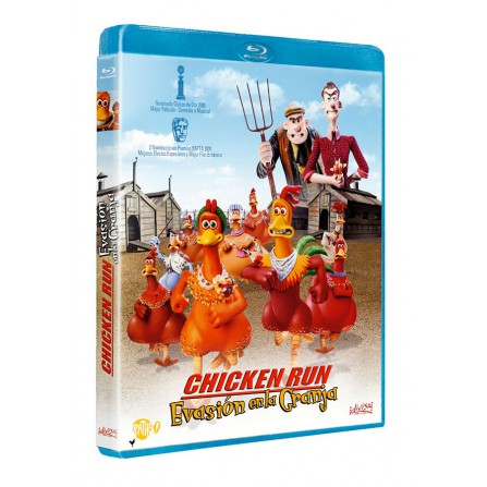 Chicken run - Evasión en la Granja - DVD