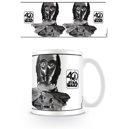 Taza C3PO (star wars 40th) 320ml