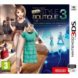 New Style Boutique 3 (Estilismo Celebrities) - 3DS