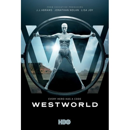 WESTWORLD TEMPORADA 1 FOX - DVD