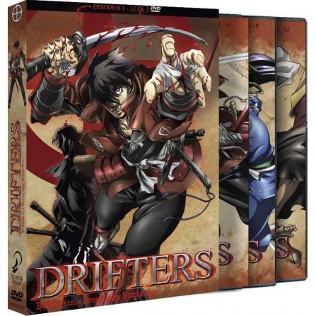 DRIFTERS EPISODIOS 1 a 12 FOX - DVD