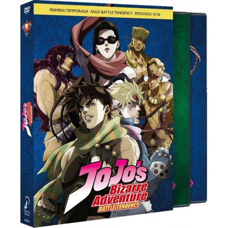 Jojo´s Bizarre Adventure - Temp. 1 Parte 2 - Battle tendency - BD