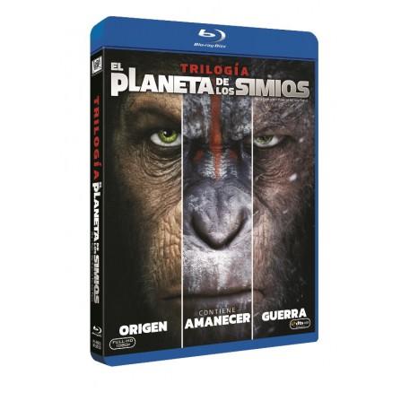 TRILOGIA PLANETA DE LOS SIMIOS FOX - DVD