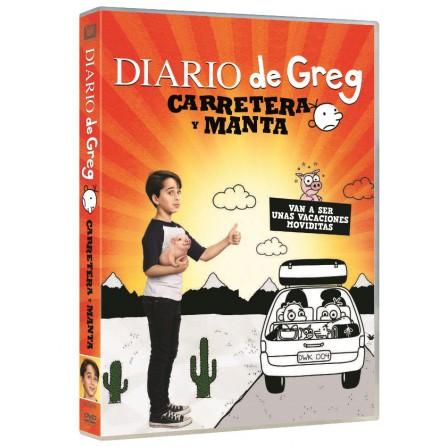 DIARIO DE GREG:CARRETERA Y MANTA FOX - DVD