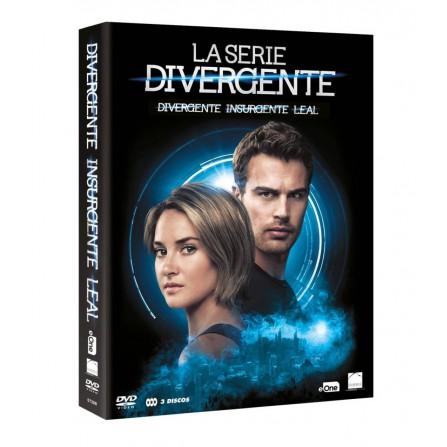 PACK SAGA DIVERGENTE FOX - DVD