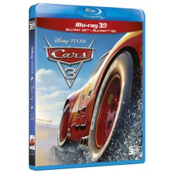 CARS 3 BD3D DISNEY - BD