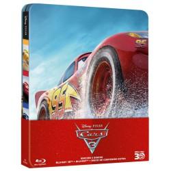 Cars 3 (steelbook 3D + 2D) - BD