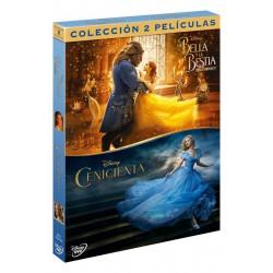 Cenicienta+bella y bestia(real) - DVD