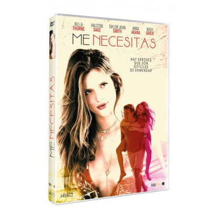 Me necesitas - DVD