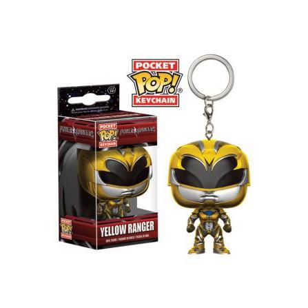 Llavero Pop Power Rangers Yellow Ranger