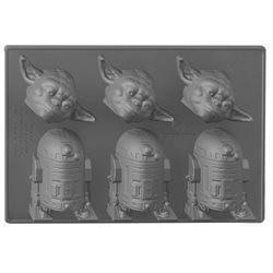 Cubitera Yoda y R2-D2 (Star Wars)