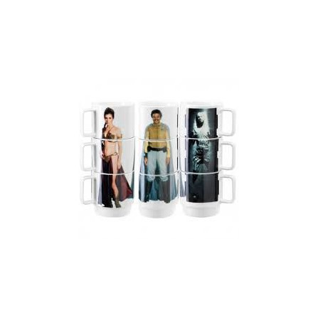 Tazas aplilables Slave Leia (Star Wars)