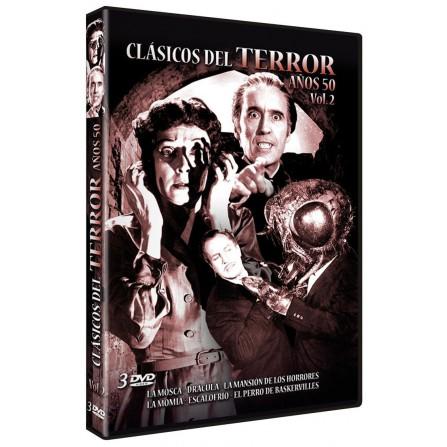Clásicos del terror de los Años 50 - Volumen 2 - DVD