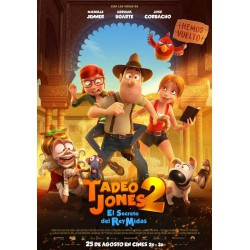 Tadeo Jones 2. El secreto del Rey Midas - DVD