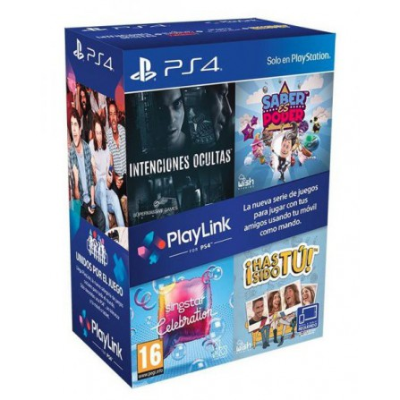 Pack sofware Playlink - PS4