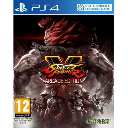 Street Fighter V Arcade Edition - PS4