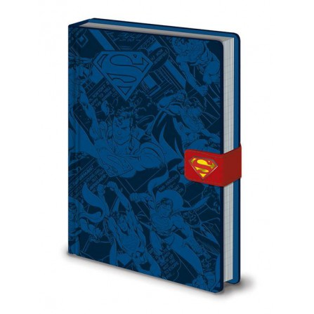 Notebook Premium A5Superman Montage - DC