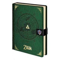 Notebook Premium A5 Green - Legend of Zelda